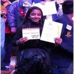 Mannat Bhargava of class 6 was awarded the youngest performer award for her melodious voice in the competition Melodiosa 2019-2020 that was held in Shemrock School.